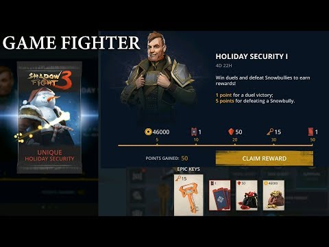 Shadow Fight 3 Event WINTER FRENZY: Holiday Security 1 rewards√