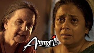 Ammani Movie Emotional Scene   Lakshmy Ramakrishnan leaves the house   Nithin Sathya