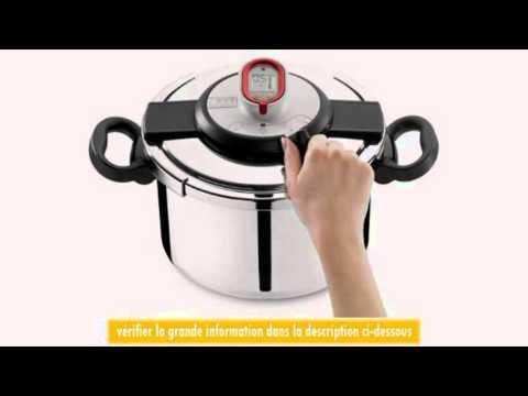 seb p4301408 autocuiseur clipso chrono 8 l - youtube