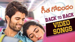 Geetha Govindam Back to Back Songs | Vijay Deverakonda | Rashmika | Gopi Sundar | Parasuram