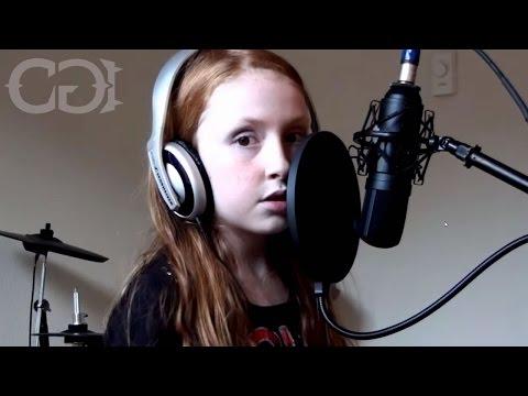 Halestorm - Familiar Taste of Poison - 9-year-old Girl & Dad Cover
