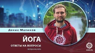 Йога. Ответы на вопросы. Денис Малинов