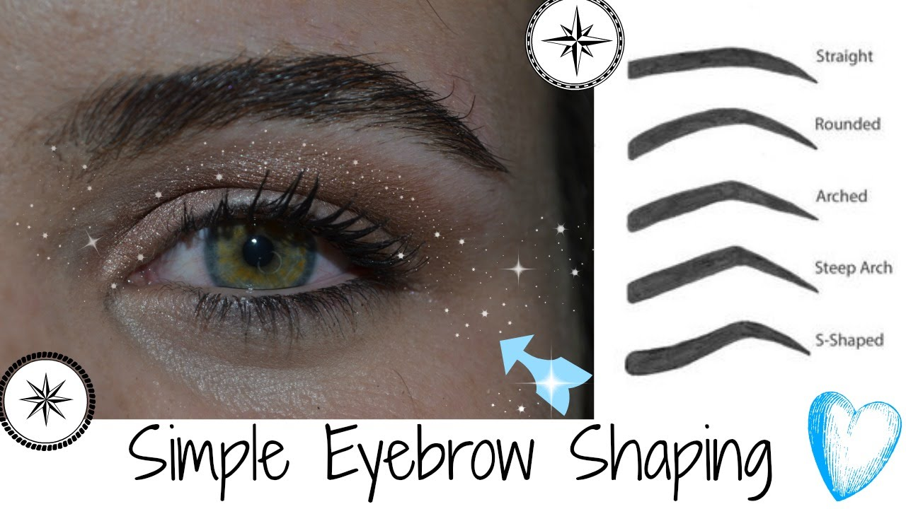 Eyebrow Shaping for Beginners *Trich Trigger Warning ...
