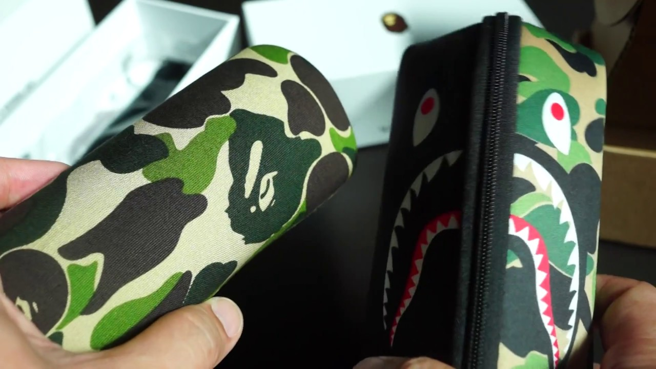 121bd70f26 Bathing Ape (BAPE) EYEWEAR Legit Check Tips   Comparison Video ...