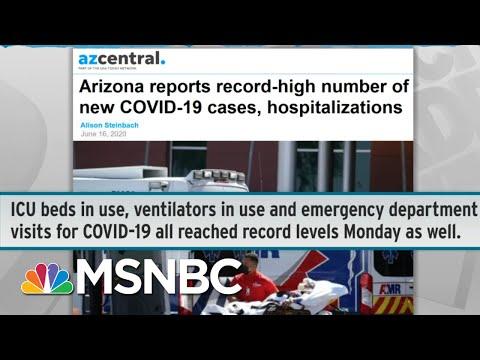 Doctors Shocked As COVID-19 Patients Inundate Emergency Rooms | Rachel Maddow | MSNBC