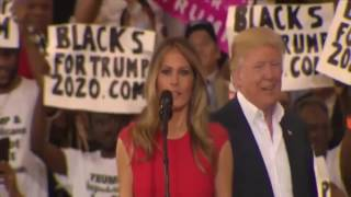 Melania Trump FLINCHES When Donald Trump Touches Her - Signs Of PTSD?