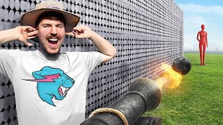 Download Can 50,000 Magnets Catch A Cannon Ball? Mp3 and Videos