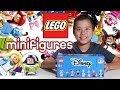LEGO DISNEY MINIFIGURES!!! EvanTubeHD Blind Bag UNBOXING!