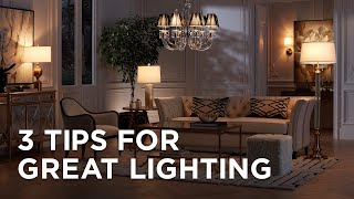3 Expert Tips From An Interior Designer To Create Dramatic Lighting In Your Home
