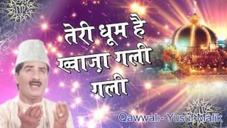 Urs Khwaja Gareeb Nawaz 2017 !! Teri Dhoom Hain Khwaja Gali Gali !! New Audio Qawwali Yusuf Malik