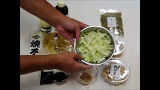 富士宮焼きそばの作り方(叶屋特製) ソース焼きそば編