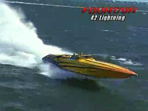 Powerboat tests the