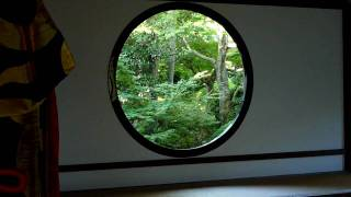 TZ7でHD動画撮ってみた。京都 源光庵「悟りの窓」