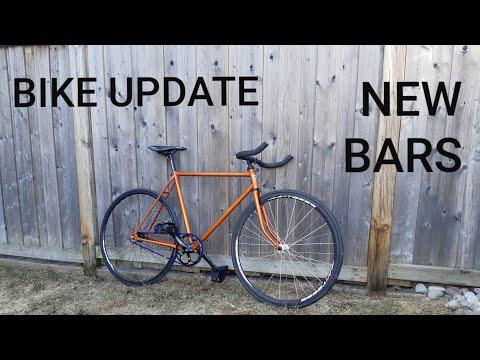 Fixed Gear Update | New Bullhorn Handlebars