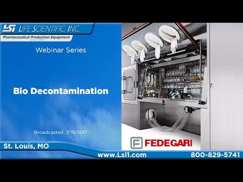 Life Scientific Lunch and Learn Series - Fedegari Bio Decontamination
