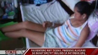 SONA: Pasyenteng may tigdas, pwedeng alagaan sa bahay basta't malinis sa katawan ang nag-aalaga