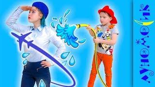Дети выбирают профессии // Луномосик