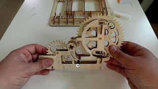 Waterwheel Coaster : le puzzle 3D en bois ultime ?