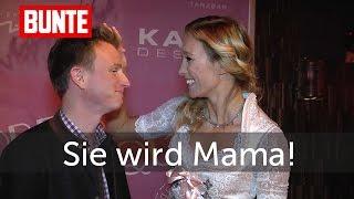 Christine Theiss - Sie wird Mama! - BUNTE TV