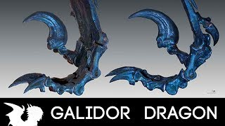 HOW TO DRAW DRAGONS - Velociraptor claws