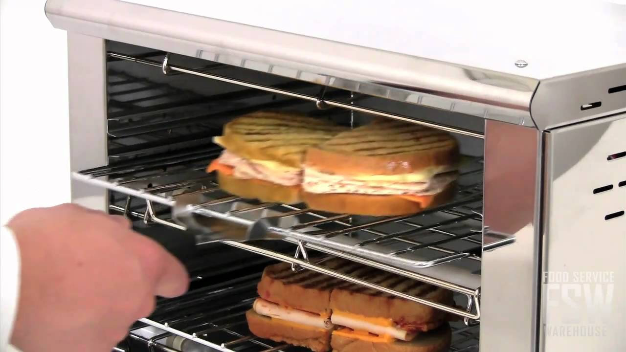 Equipex Commercial Toaster Oven Video Bar 200 1 Youtube