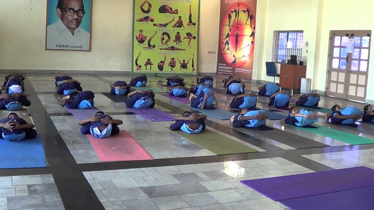 Bharathidasanar Matric Hr Sec School, Arakkonam - YOGA NIDRASANA ...