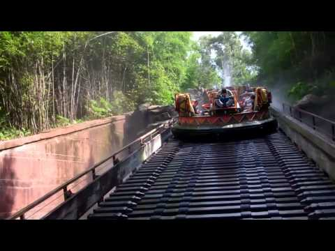 KALI RIVER RAPIDS AT ANIMAL KINGDOM WALT DISNEY WORLD