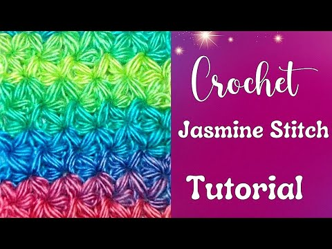 How to Crochet the Jasmine Stitch Part I - Crochet Jewel