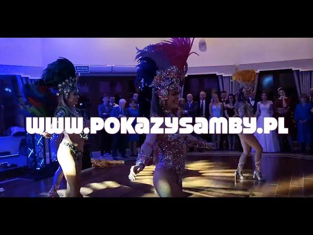 Pokaz samby brazylijskiej na weselu - tancerki samby 100% Samba Show