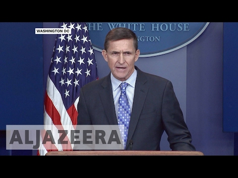Michael Flynn quits as US national security adviser