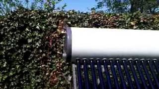 Kokende zonneboiler type MijnZonneboiler.nl compact.3GP