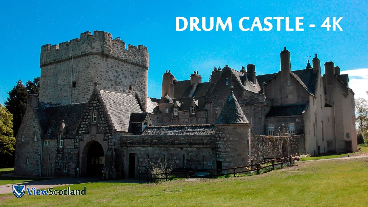 drum castle 2017 - scotland - 4k - youtube