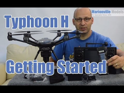 Yuneec Typhoon H Getting Started, Setting Up, Calibration, How to Fly