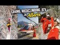 CAVING, ROCK CLIMBING, ATV in Alberta!