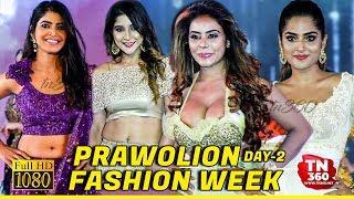 PRAWOLION FASHION WEEK 2019 DAY-2  | Sanchita Shetty | Shakshi | Sree Reddy Hot