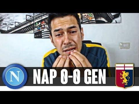 SAPETE SOLTANTO PIANGERVI ADDOSSO! | Napoli-Genoa 0-0