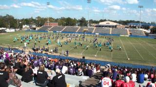 Sam Houston Band Performs at 2011 Sulphur High School Marching Festival 11/5/2011