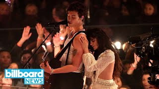 "Shawn Mendes & Camila Cabello Heat Up 2019 VMAs With ""Señorita"" Performance 