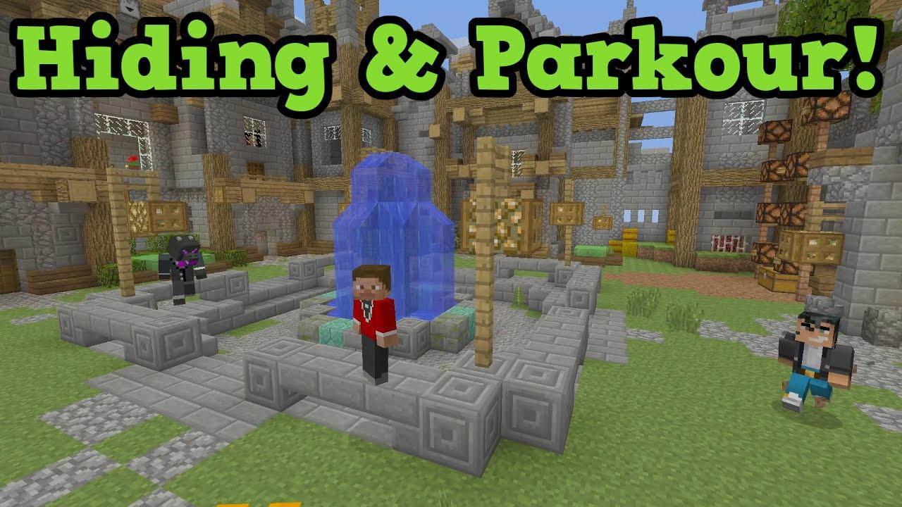 Minecraft Xbox 360 Ps3 Mini Games Lobby Hiding Secrets