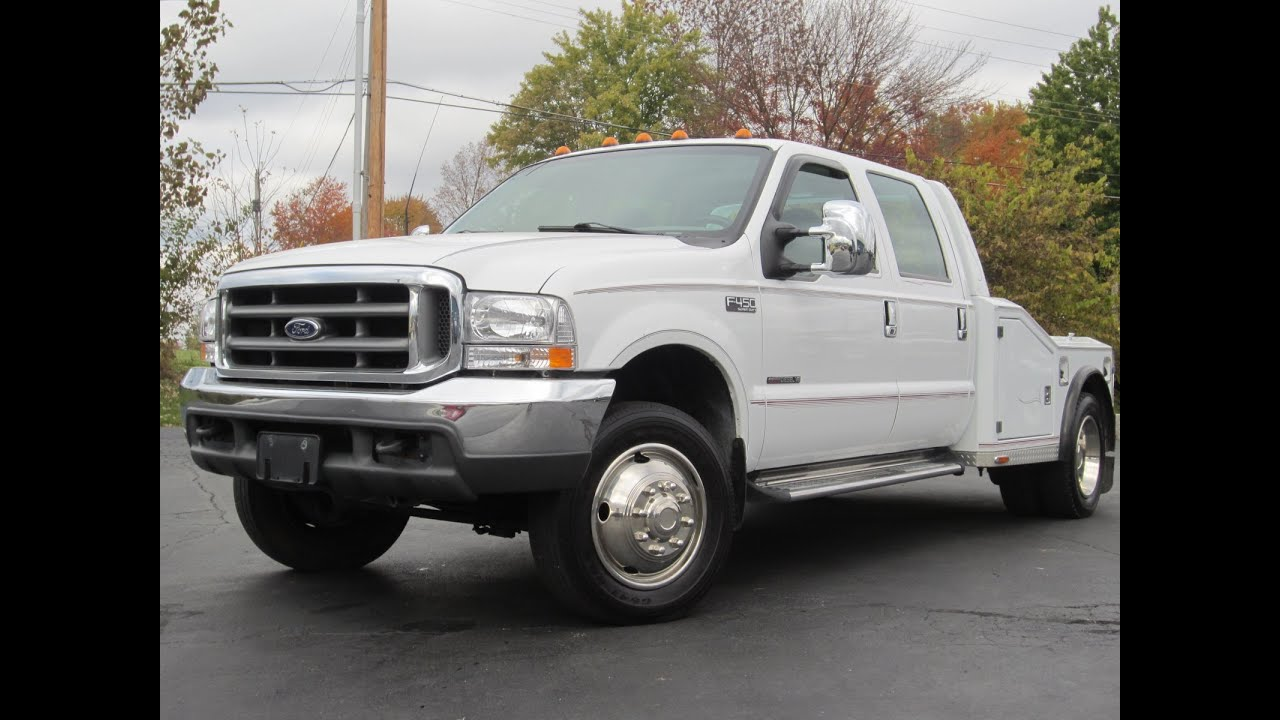 small resolution of 2000 ford f450 western hauler 7 3l powerstroke diesel very very clean sold