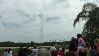 STS-135 Atlantis Launch from KSC Visitor Complex