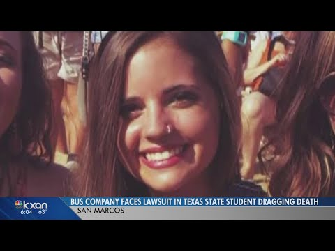 Lawsuit: Bus company in Texas State student's dragging death lied to insurance
