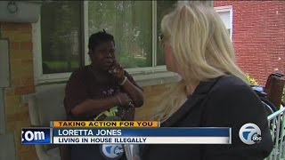 Neighbors accuse squatter of stealing water