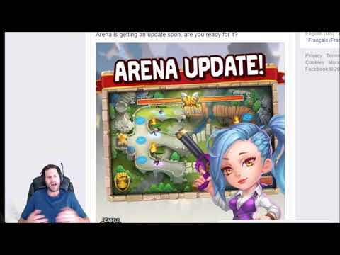 Arena IS GETTING FAME!!! Crazy UPDATE Coming Soon! Castle Clash