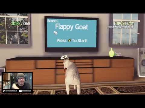 Twitch Highlight - Flappy Goat Cheats