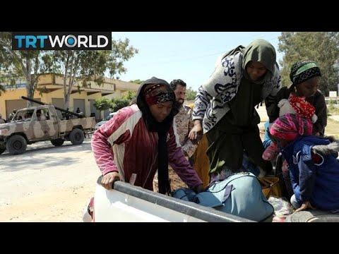 Libya on the Brink: Tripoli residents flee Haftar-led offensive