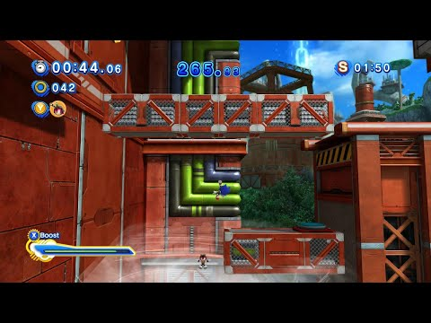 Sonic Generations (PC): All Planet Wisp Modern Challenge Acts (S-Ranks)