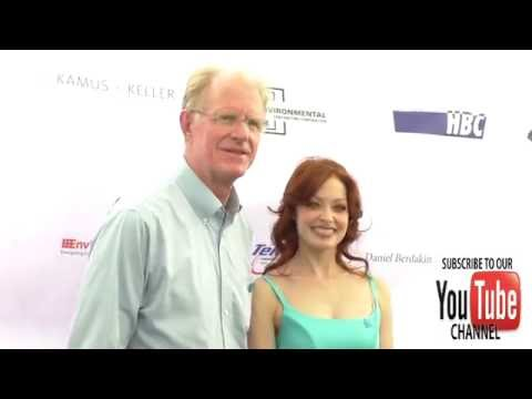 Ed Begley Jr and Elizabeth J  Carlisle at the 4th Annual Ed Asner And Friends Poker Tournament For A