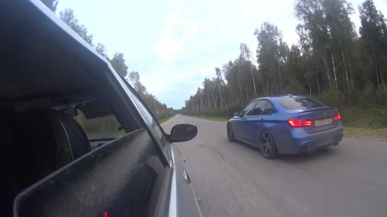ВАЗ 2110 Турбо #50: Audi A4 2.0 2016, BMW 335i st1, Honda Accord 2.4
