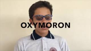 Paradox and Oxymoron